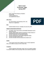 UT Dallas Syllabus for meco6315.501.10s taught by John Wiorkowski (wiorkow)