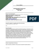 UT Dallas Syllabus for soc1301.002.08f taught by Meryl Nason (mnason)