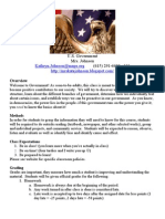 U.S. Government Mrs. Johnson Kathryn.johnson@Mnps.org (615) 291-6600 x101 Http://Mrskatejohnson.blogspot.com/ Overview
