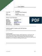 UT Dallas Syllabus for ba4324.501.08f taught by Michael Savoie (msavoie)