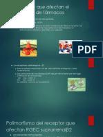 Polimorfismos Que Afectan El Metabolismo de Fármacos
