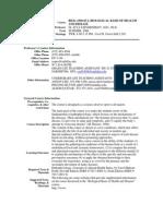 UT Dallas Syllabus for biol3350.0u1.08u taught by Ilya Sapozhnikov (isapoz)