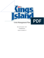 carly odonnell crisis management plan- kings island