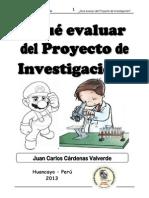 Rubricas Ev Proyectos PDF