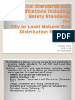Technical Standards and Specifications Including Safety Standards