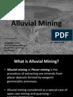 Alluvial Mining