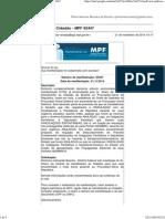 MPF 92447 - ADPF - Coligações à Câmara de Deputados Estaduais