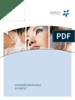 Sasol Cosmetics Formulary