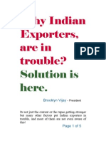 Indian Exporters Why Are You in Trouble 3-3-14