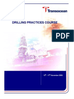 Drilling Practices Course Manual