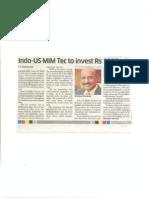 KC Interview- Deccan Herald 15 Oct 2014