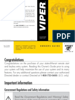 Viper 4806v Remote Start Owner Manual