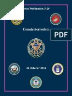 Joint Publication 3-26 Counterterrorism 2014