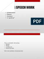 teaching speech work 1