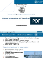 CFD Course Introduction - Montenegro