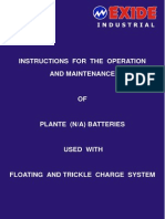 Battery O and M Manual