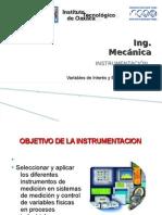 Unidad I Instrumentacion
