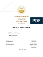 Punimi Seminarik E Drejta Kushtetuese