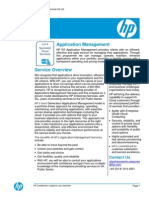 HP GCloud SD Lot 4 - Application Management Services