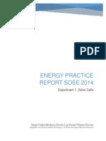 Solar Cell Report Mendoza-Pineres