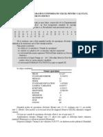 Excel Pentru Calculul Indicatorilor Statistici