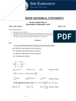 Model Paper-I (Mathematics) Solution.pdf