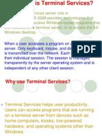 Terminal Services -1