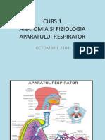 Anatomia Si Fiziologia Apratului Respirator