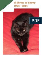 Digital Shrine to a Beloved CAt