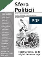 Sfera politicii revista