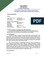 UT Dallas Syllabus for aim6202.0gm.08u taught by Surya Janakiraman (suryaj)