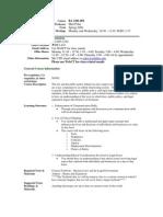 UT Dallas Syllabus for ba2301.hon.08f taught by Matthew Polze (mmp062000)