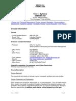 UT Dallas Syllabus for aim6351.0g1.08u taught by Arthur Agulnek (axa022000)