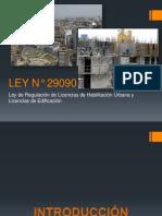 Ley 29090 (Introducción)