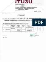B.Tech II Yr I sem (R09) Supple June/July 2014 Exams CV results