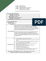 UT Dallas Syllabus for geos3434.501.08s taught by Ignacio Pujana (pujana)