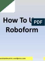 Marivic_Gutierrez_How to Use Roboform