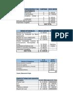Data de Costos (Corrección) 03-07-2014