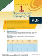 01 - Organising and Displaying Data