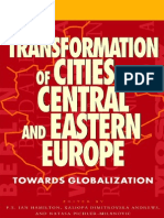 Transformation of cities in central and Eastern Europe