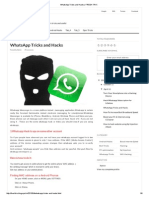 WhatsApp Tricks and Hacks _ FRESH TRIX
