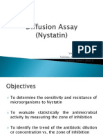 REPORT (Diffusion Assay)