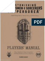 Assh Players Manual