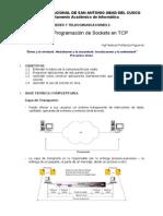 Lab01 - Programacion de Sockets en TCP