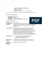 UT Dallas Syllabus for eco6109.001.08s taught by Lei Zhang (lxz054000)