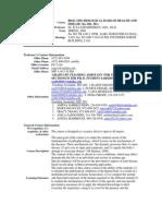 UT Dallas Syllabus for biol3350.501.08s taught by Ilya Sapozhnikov (isapoz)