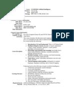 UT Dallas Syllabus for cs4365.001.08s taught by Yu Chung Ng (ycn041000)