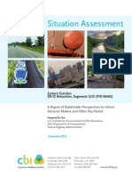 201411 Eastern Corridor Situation Assessment