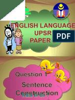 Teknik Menjawab Bahasa Inggeris UPSR