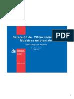 Revision de Procedimitnos de Deteccion de Vibrio Cholerae